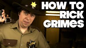 Rick Walking Dead Halloween Costume Rick Grimes Costume Cheap