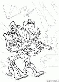 coloring page military soldiers