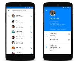 contacts android app launches hello a new dialer and contacts app for android