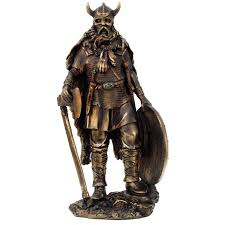 Home Decor Statues Viking Warrior With Axe Statue The Vikings Collectible