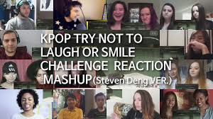 Challenge Reaction Kpop Try Not To Laugh Or Smile Challenge Reaction Mashup