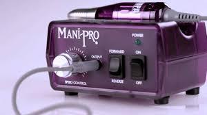 kupa inc presents the manipro original electric nail file machine