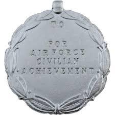 air force civilian achievement award medal usamm