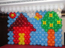 Home Balloon Decoration Balloon Decoration At Home Amazing Image Of Simple Balloon