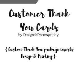 customer thank you etsy