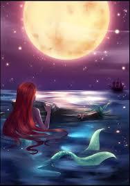 25 mermaid painting ideas disney