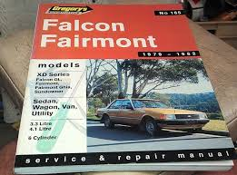 1979 1980 1981 1982 ford falcon xd workshop manual u2022 aud 12 95