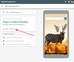 submit google u0027s mobile friendly test tool allows you to submit pages to