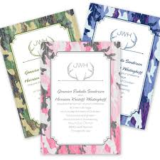 camouflage wedding invitations how to use camouflage in your wedding