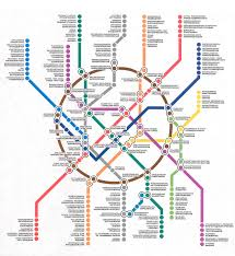 Ryanair Route Map by Russian Subway Map My Blog
