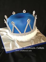 royal blue crown cake cakebox custom cakes pinterest crown