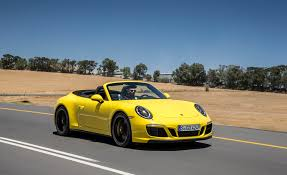 yellow porsche side view 2017 porsche 911 gts cars exclusive videos and photos updates