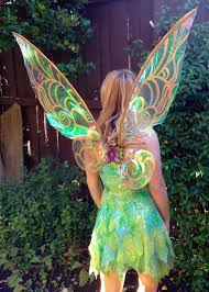 fire pixie fashion cellophane tinkerbell wings tutorial seems