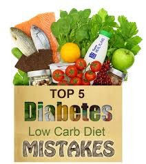 5 diabetic low carb diet mistakes