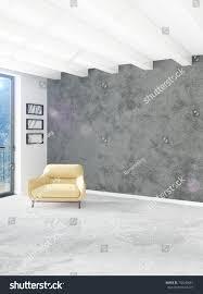 livingroom in yellow bedroom livingroom modern style interior stock illustration