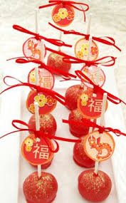 Vietnamese New Year Decoration by A Perfect Chinese New Year Buffet Moon Cakes Lychee Candy Haw