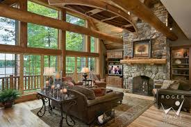 beautiful log home interior design 77 and modern home design with
