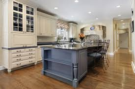 kitchens with different colored islands different color cabinet kitchen livingurbanscape org