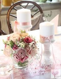 deko blumen hochzeit altrosa tischdeko hochzeit taufe sizoweb perlen blumen rosa pink