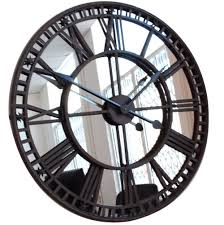 Giant Wall Clock Hall Kitchen Wall Clocks Designer With Oversized Wall Clocks And