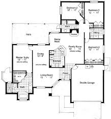 large family floor plans floor plan floor plans space efficient home plan house small