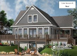 a frame house plans with basement house plan w3914 v3 detail from drummondhouseplans com