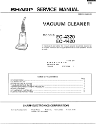 sharp sharp vacuum cleaner parts model ec4320 sears partsdirect