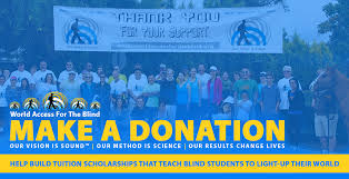 Support Groups For The Blind World Access For The Blind Make A Donation