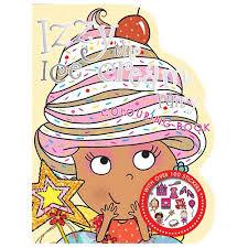 izzy ice cream fairy colouring book ideas uk