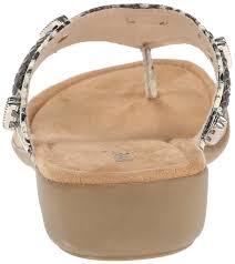 minnetonka women u0027s silverthorne dress sandal python manmade upper