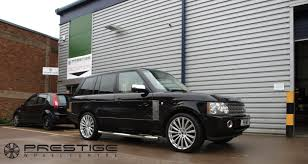 range rover silver range rover vogue tdv8 in for hawke chayton alloy wheels in niagra