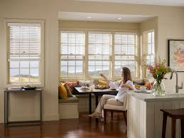 kitchen style bay windows treatments for kitchen over sink