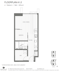 Vancouver Floor Plans Floorplans Floor Plans For All Units