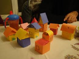 make a paper house paper houses craft and kid activities