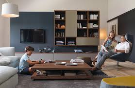 team 7 sofa cubus wohnwand in nussbaum mit glas team 7 entry