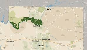 Map Of Arizona And Utah by Where Is The Grand Canyon My Grand Canyon Park