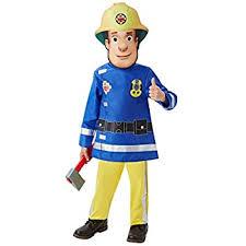 fireman costume fireman costume dress up boys age 4 5 6 co uk toys