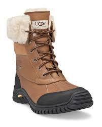 ugg australia s purple adirondack boots snowy style courtesy of ugg these suede boots feature a frill of