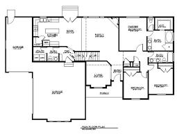 level floor rambler floor plan with bonus level our new home