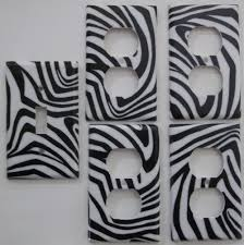 black and white zebra bath accessories living room ideas