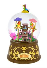 musical snow globe enchanted tiki room