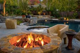 Image Of Backyard Oasis Ideas Fireplace Firepit Pinterest - Backyard oasis designs