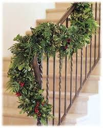 evergreen garland 6 foot fireplace adornment and