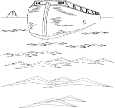 noe boat water coloring pages spring coloring pages free