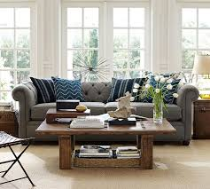 101 Best Pottery Barn Decorating Chesterfield Sofa For The Home Pinterest Chesterfield Sofa