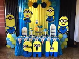 minion baby shower decorations minions decorations for disposable party set birthday interior