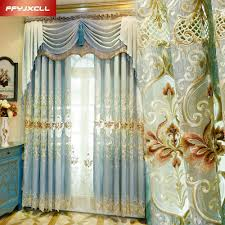 embroidered valance curtains promotion shop for promotional