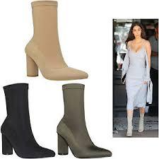 womens boots block heel womens lycra stretch high block heel cleb style