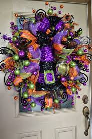 halloween wreaths best 25 halloween mesh wreaths ideas on pinterest deco wreaths