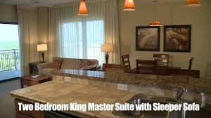 King Sleeper Sofa Bed by Origin At Seahaven Beach View Two Bedroom King Master Suite With